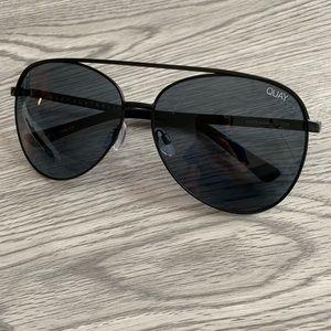 Quay Aviator Sunglasses
